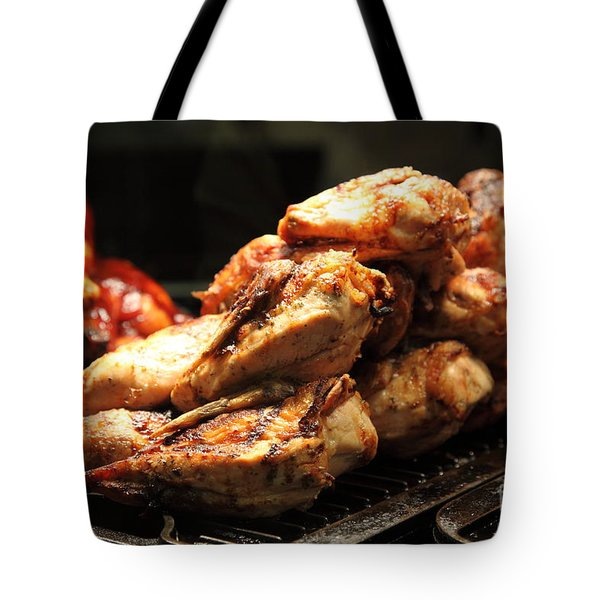 Roast Chicken - 5D20686 Tote Bag by Wingsdomain Art and Photography