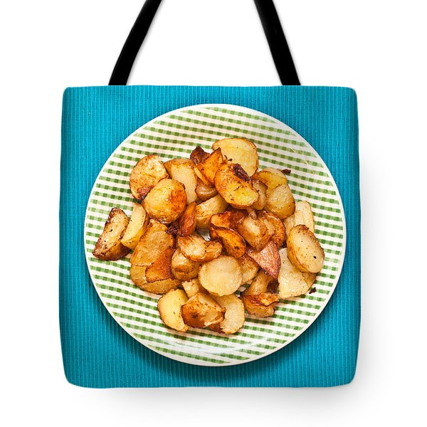 Roast Potatoes Tote Bag by Tom Gowanlock