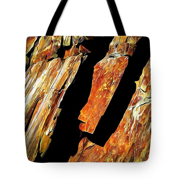 Rock Art 21 Tote Bag by Bill Caldwell -        ABeautifulSky Photography