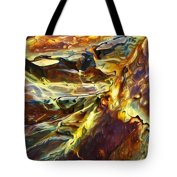 Rock Art 27 Tote Bag by Bill Caldwell -        ABeautifulSky Photography