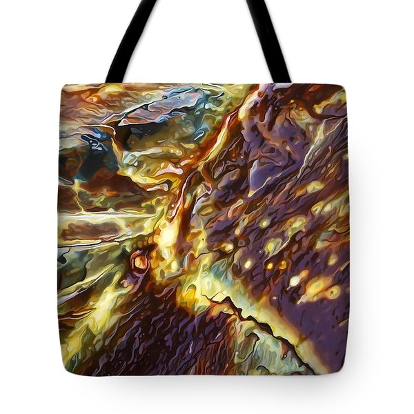 Rock Art 28 Tote Bag by Bill Caldwell -        ABeautifulSky Photography