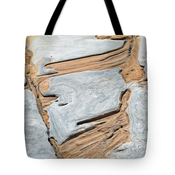 Rock Art in California's Point Lobos State Natural Reserve Tote Bag by Bruce Gourley