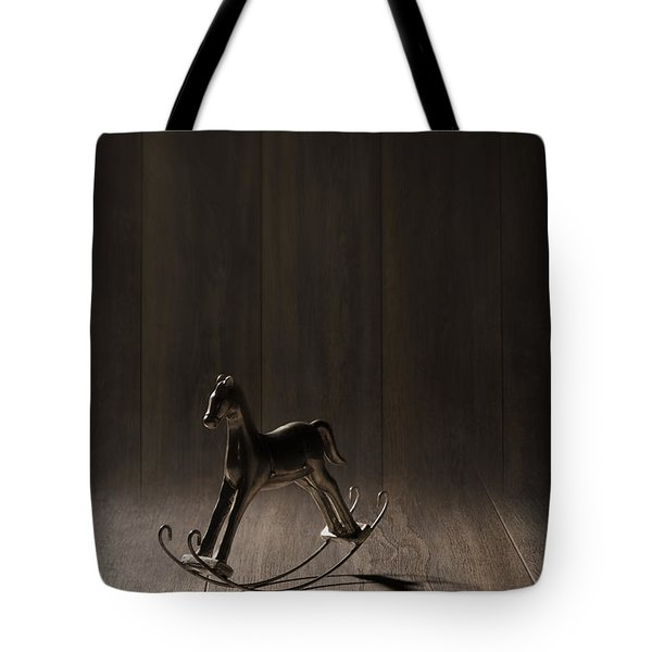 Rocking Horse Tote Bag by Amanda And Christopher Elwell