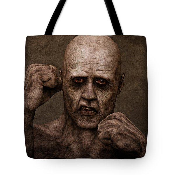 Rocky Balboa - Zombie Tote Bag by Liam Liberty