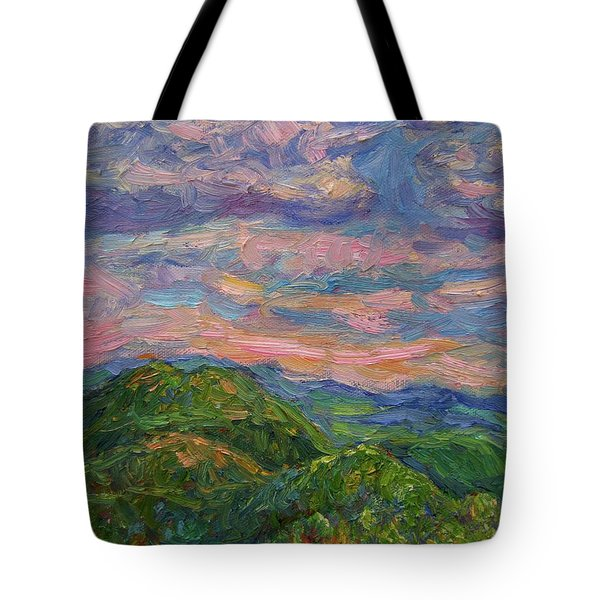 Rocky Knob Evening Tote Bag by Kendall Kessler