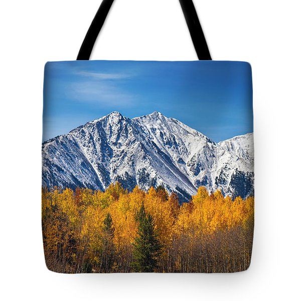 Rocky Mountain Autumn High Tote Bag by James BO  Insogna