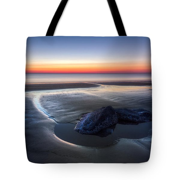 Rocky Pools Tote Bag by Debra and Dave Vanderlaan
