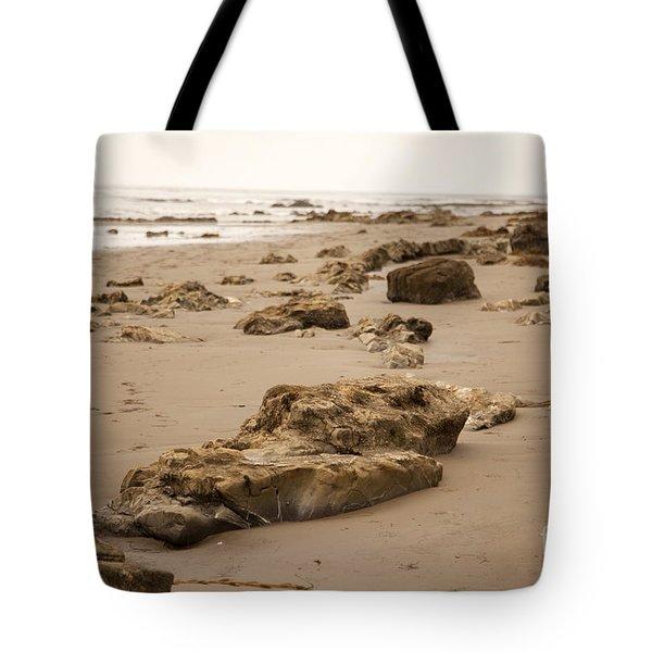 Rocky Shore 2 Tote Bag by Amanda Barcon