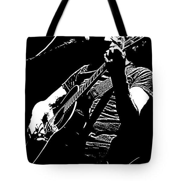 Roger Waters No.01 Tote Bag by Caio Caldas