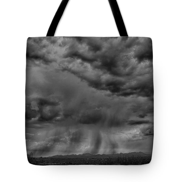 Roiling Sky Tote Bag by Judi FitzPatrick
