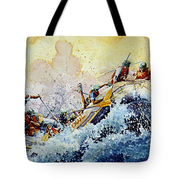 Rollin' Down The River Tote Bag by Hanne Lore Koehler
