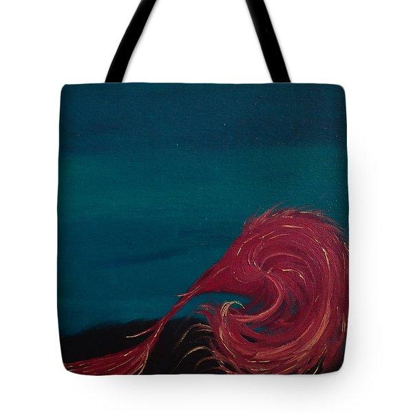 Rollin Seaweed Tote Bag by Robert Nickologianis