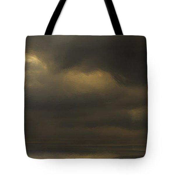 Rolling Sea Tote Bag by Ron Jones