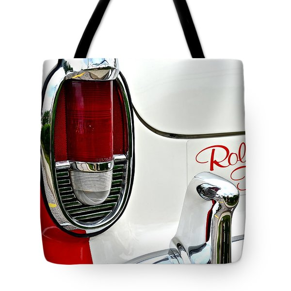 Rolling Thunder Tote Bag by Frozen in Time Fine Art Photography