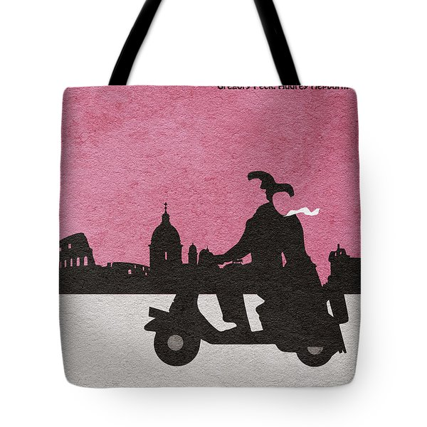Roman Holiday Tote Bag by Ayse Deniz
