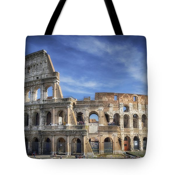 Roman Icon Tote Bag by Joan Carroll
