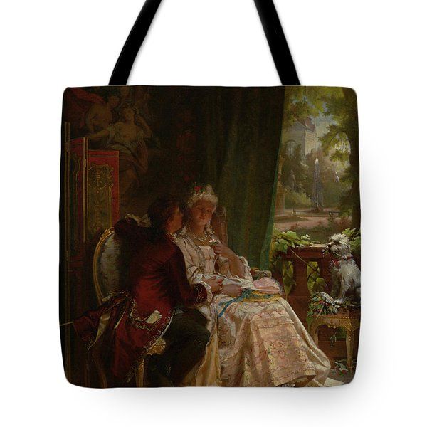 Romance Tote Bag by Carl Herpfer
