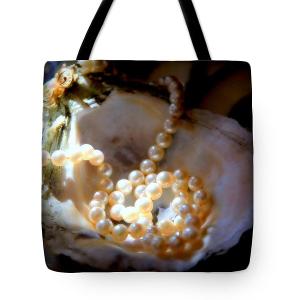 Romance Of The Sea Tote Bag by Karen Wiles