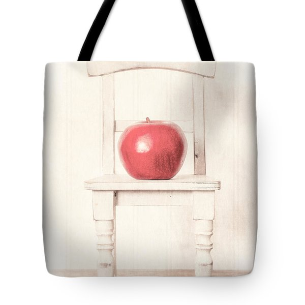Romantic Apple Still Life Tote Bag by Edward Fielding