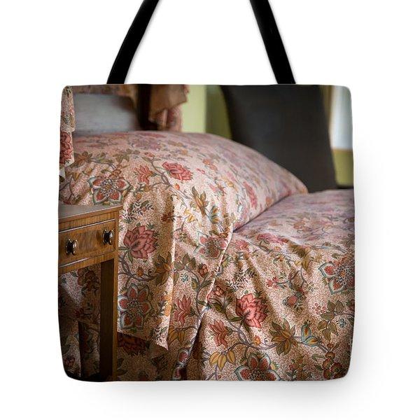 Romantic Bedroom Tote Bag by Edward Fielding