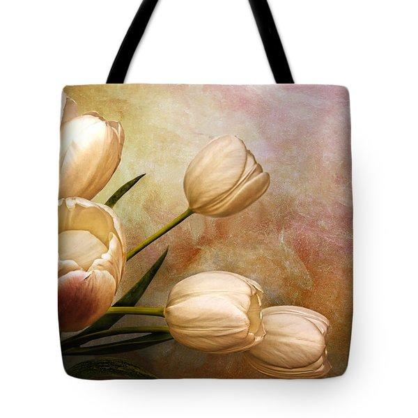 Romantic Spring Tote Bag by Claudia Moeckel