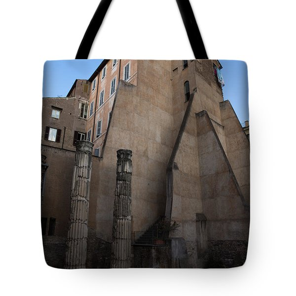 Rome - Centuries Of History And Architecture Tote Bag by Georgia Mizuleva