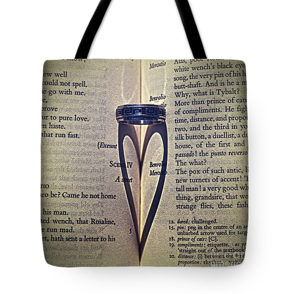 Romeo and Juliet  Tote Bag by Stylianos Kleanthous