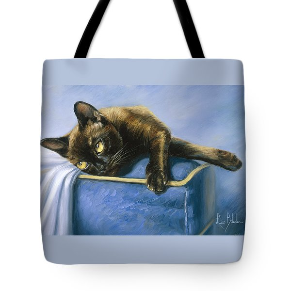 Romeo Tote Bag by Lucie Bilodeau