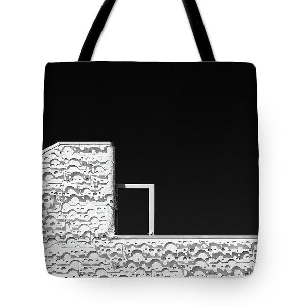 Roof Door Tote Bag by Dave Bowman