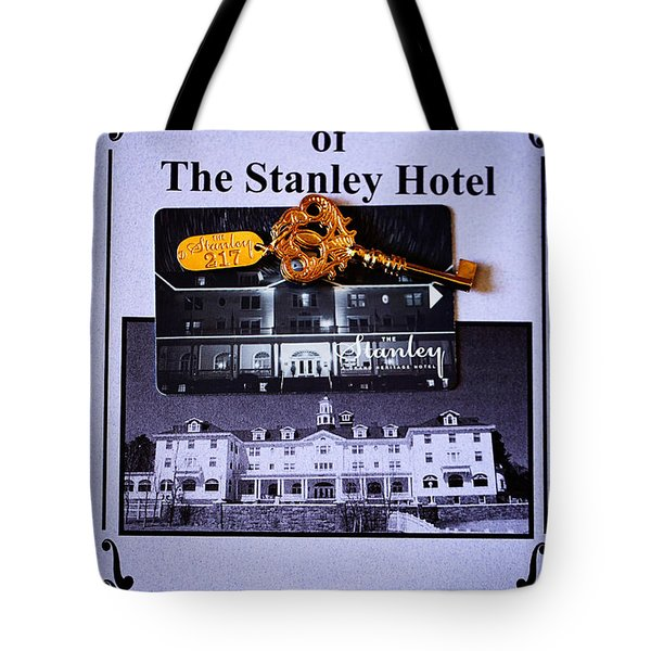 Room 217 Tote Bag by Cheryl Young