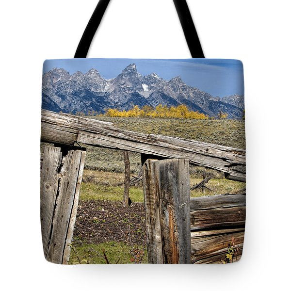 Room with a View Tote Bag by Kathleen Bishop