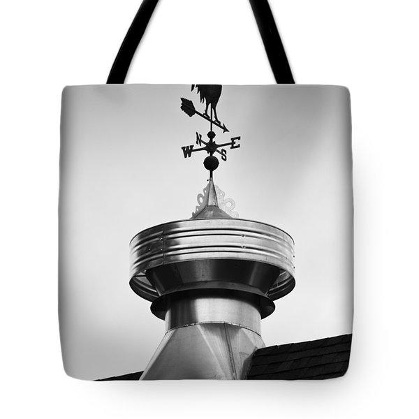Rooster Vane Tote Bag by Christi Kraft