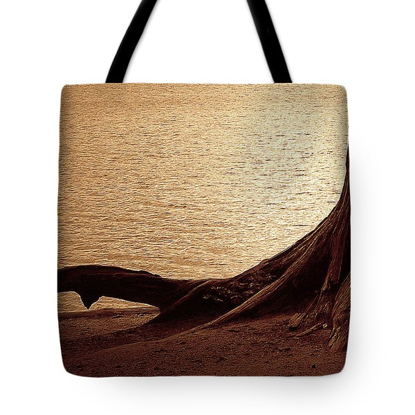 Roots Tote Bag by Mim White