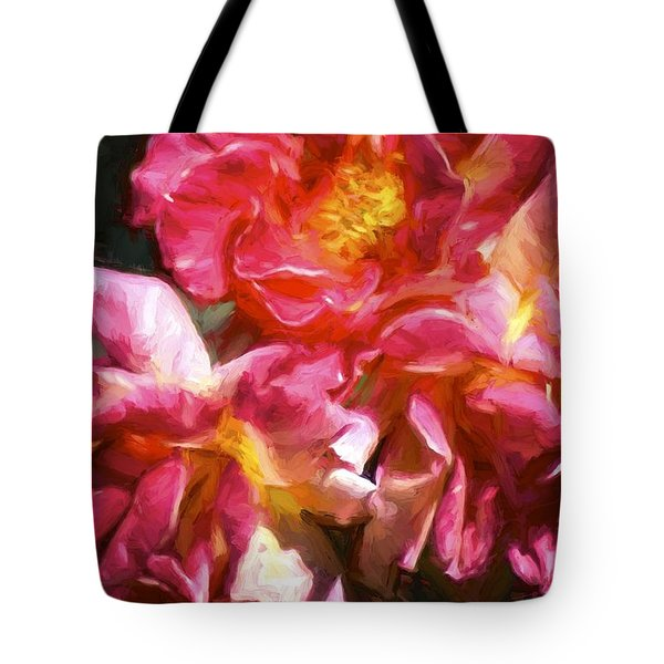 Rose 115 Tote Bag by Pamela Cooper