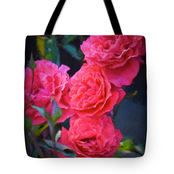 Rose 138 Tote Bag by Pamela Cooper