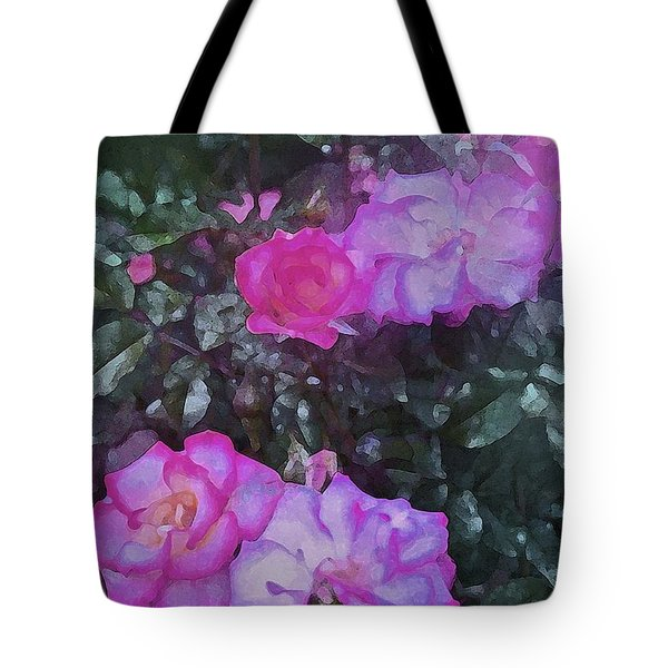 Rose 189 Tote Bag by Pamela Cooper