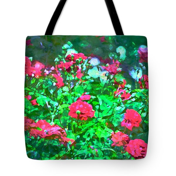 Rose 201 Tote Bag by Pamela Cooper