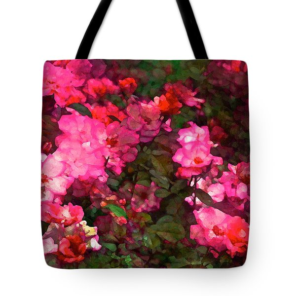 Rose 202 Tote Bag by Pamela Cooper