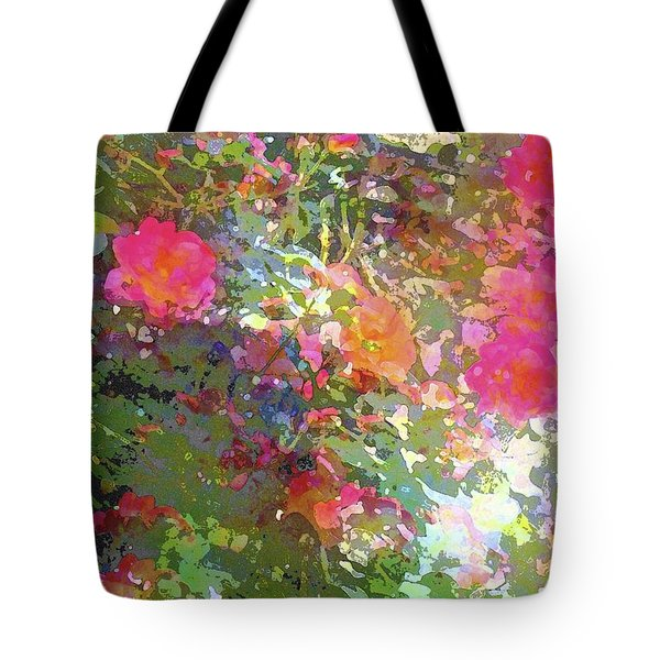 Rose 207 Tote Bag by Pamela Cooper
