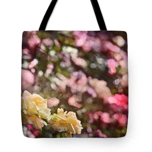 Rose 209 Tote Bag by Pamela Cooper
