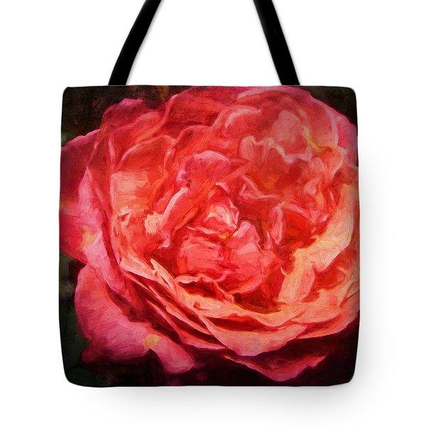 Rose 52 Tote Bag by Pamela Cooper