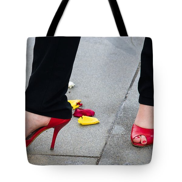 Rose Among The Roses - Featured 2 Tote Bag by Alexander Senin