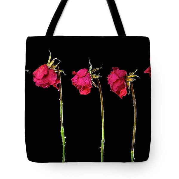 Rose Lineup Tote Bag by Mauro Celotti