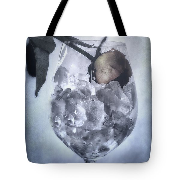 Rose On The Rocks Tote Bag by Joana Kruse