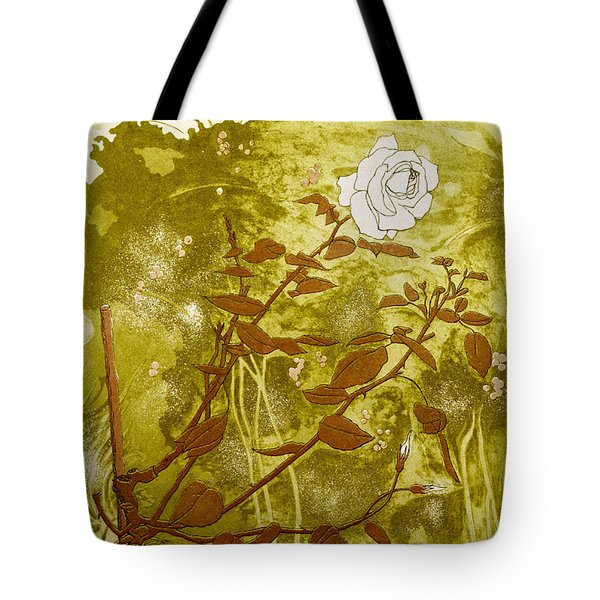 Rose Tote Bag by Valerie Daniel