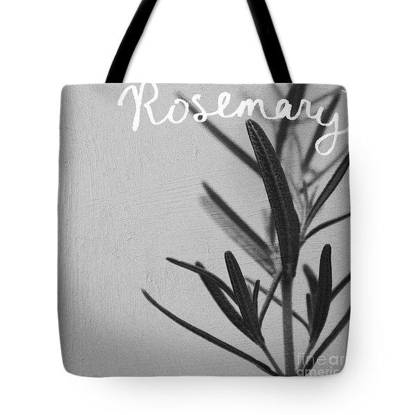 Rosemary Tote Bag by Linda Woods