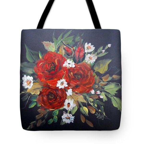Roses Tote Bag by Dorothy Maier