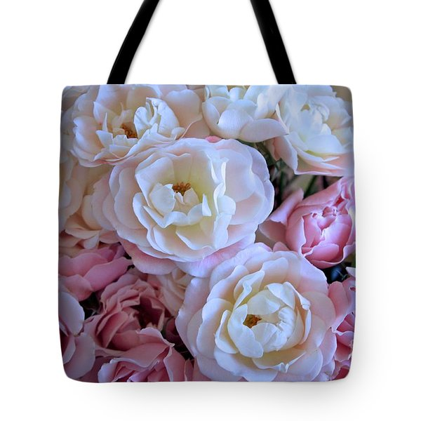 Roses on the Veranda Tote Bag by Carol Groenen