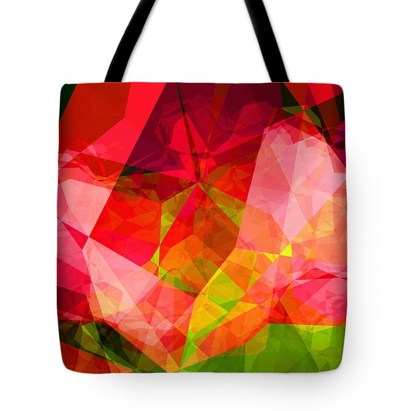 Roses Tote Bag by Wendy J St Christopher
