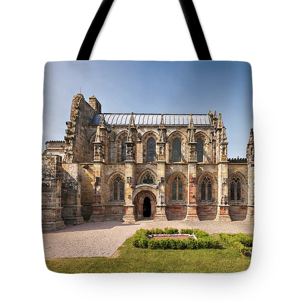 Rosslyn Chapel 01 Tote Bag by Antony McAulay